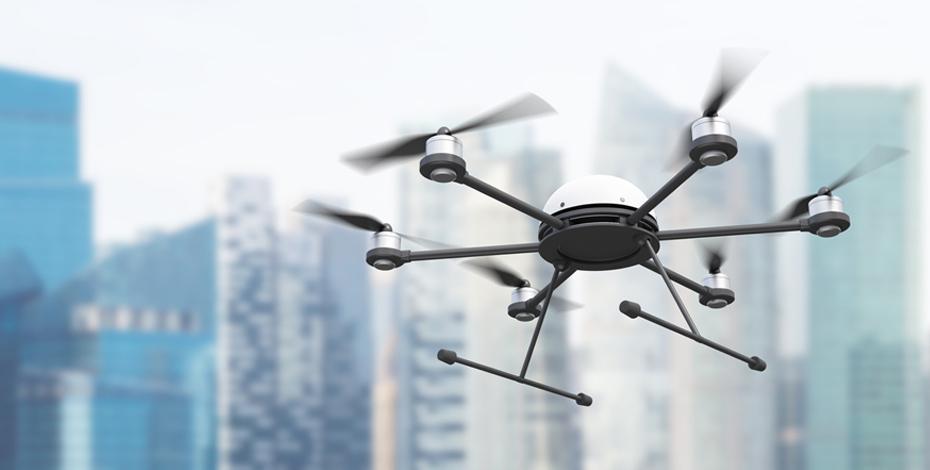 Eine IoT Drohne