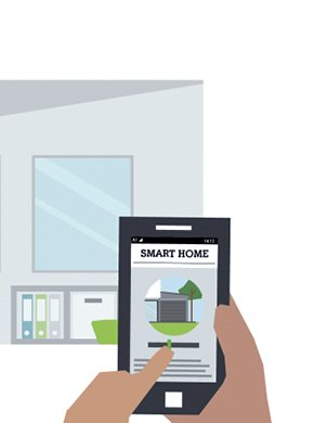 Illustration Smart Home