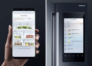 Smartphone Kühlschrank