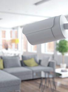 Überwachung im Wohnzimmer