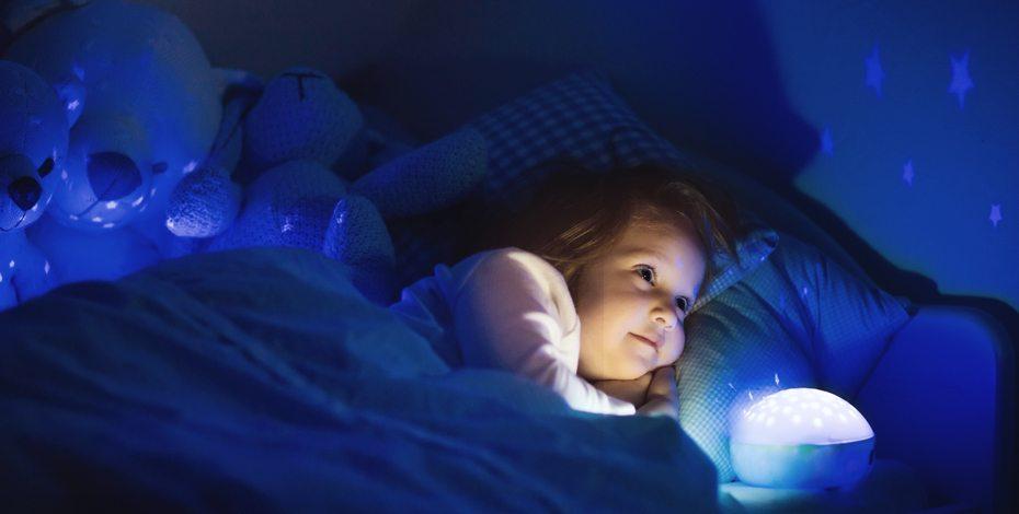 Kind beim Schlafen