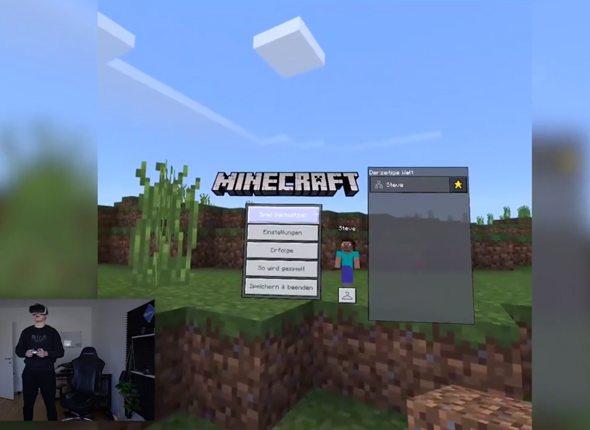 Venicrafts VaroTraining Mit Der Samsung Gear VR A ConnectLife - Minecraft varo spielen kostenlos