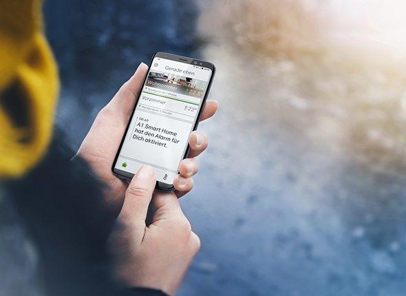 a1 smarthome alarm app