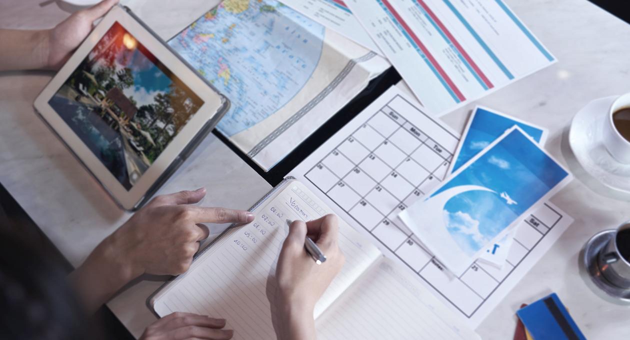 Urlaub organisieren