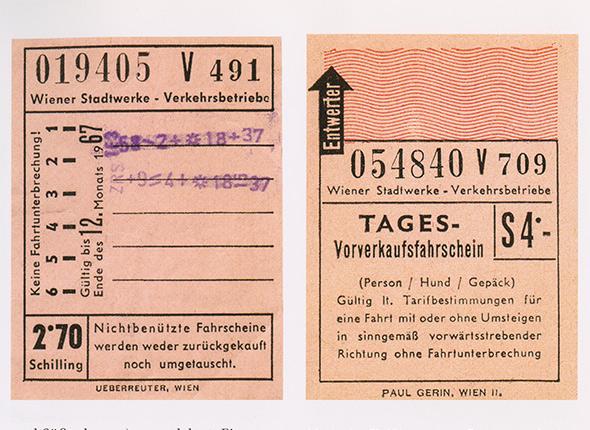 Fahrschein Straßenbahn