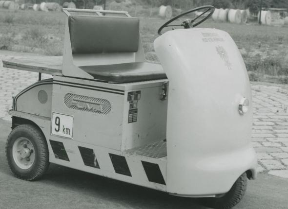 altes Elektroauto Nostalgie
