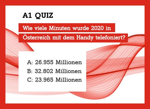 A1 Quiz: Wie hoch ist der Wiener Arsenalturm?